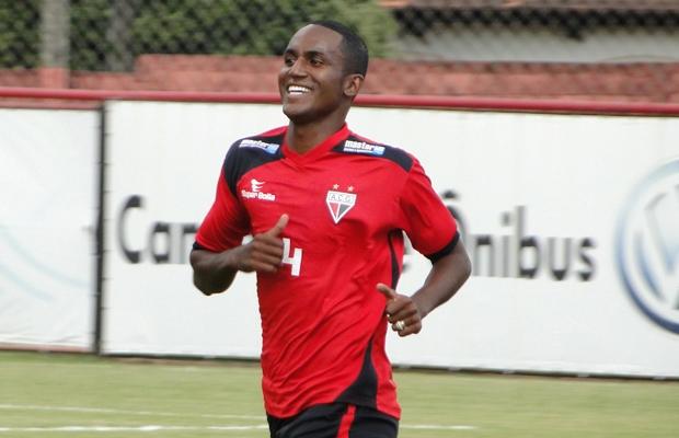 Leonardo, zagueiro do Atlético-GO (Foto: Divulgação/Atlético-GO)