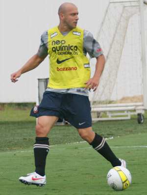 Alessandro, treino Corinthians (Foto: Anderson Rodrigues/Globoesporte.com)