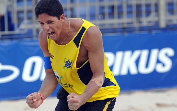 Álvaro Filho, jogador paraibano de vôlei de praia (Foto: Divulgação)