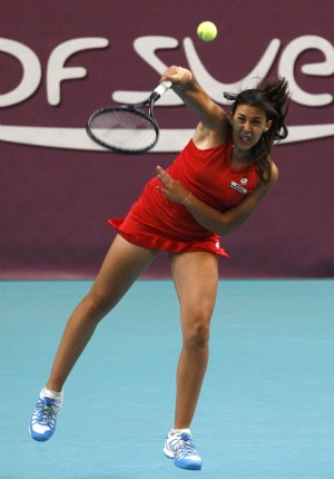 Marion Bartoli WTA de Paris (Foto: AP)