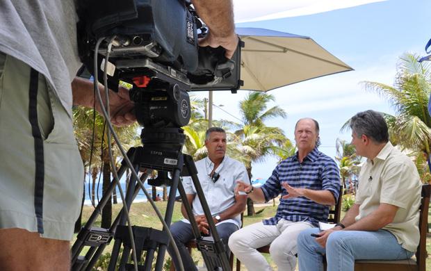 falcao e cerezo EE (Foto: Eric Luis Carvalho/Globoesporte.com)