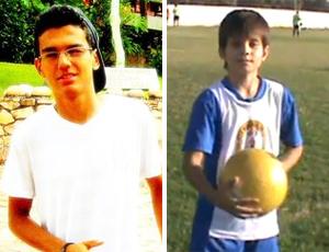 Pnera Luiz Henrique e Gabriel Allan (Foto: Reprodução)