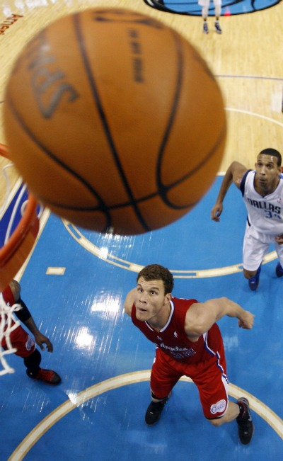 NBA Blake Griffin Clippers x Mavericks (Foto: Reuters)