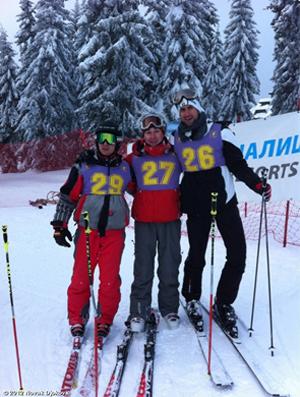 Novak Djokovic em resort de esqui na Sérvia (Foto: Site Novak Djokovic)
