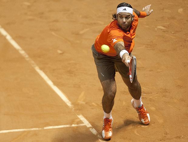 Fernando González tênis Brasil Open São Paulo (Foto: EFE)