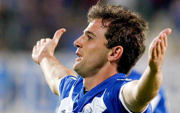 Montillo comemora gol - foto para carrossel (Foto: Washington Alves / VIPCOMM)