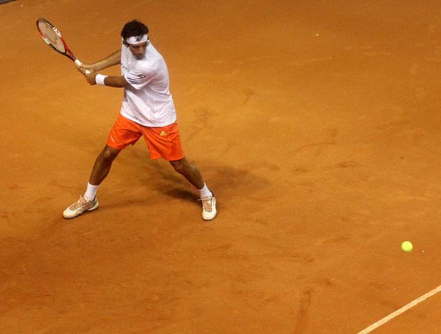 Thomaz Bellucci tênis Brasil Open treino São Paulo (Foto: Divulgação / Marcelo Ferrelli)