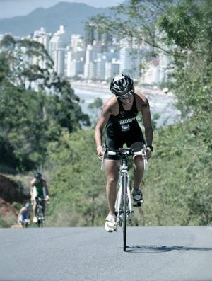 Mundialito de Triatlo Rápido feminino Flávia Fernandes do GP de Verão de triatlo 2010 (Foto: Divulgação)