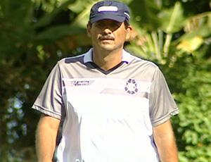 Duílio, técnico do Rio Branco-ES (Foto: Reprodução/TV Gazeta)