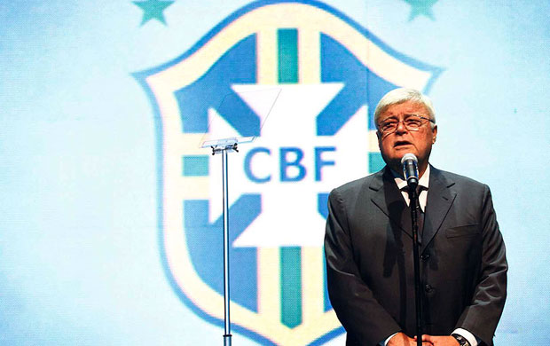Ricardo Teixeira presidente da CBF (Foto: Gustavo Tilio / GLOBOESPORTE.COM)