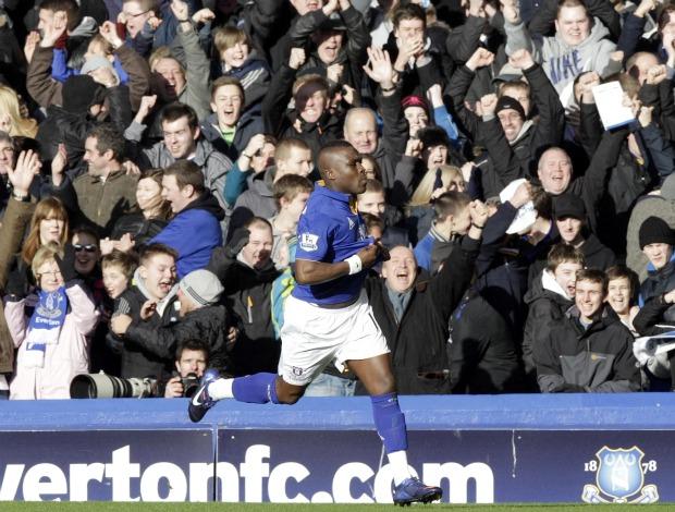 Royston Drenthe Everton Blackpool (Foto: Reuters)