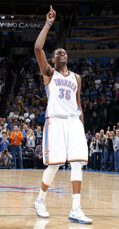 Kevin Durant Oklahoma City Thunder NBA (Foto: Getty Images)