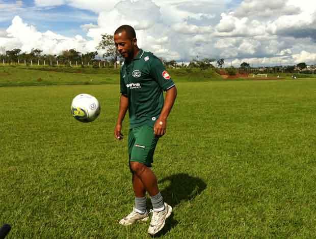 André Neles ainda é dúvida para o jogo do próximo sábado contra a Funorte (Foto: Hismênia Keller/GLOBOESPORTE.COM)