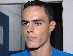Vitinho, atacante do Vitória-ES (Foto: Reprodução/TV Gazeta)