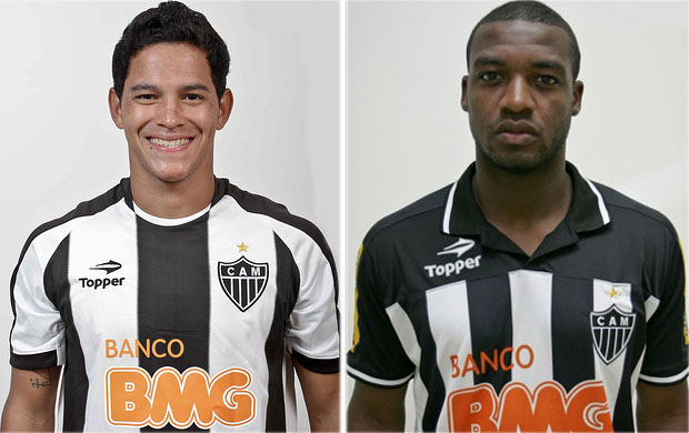 Giovanni Augusto e Alê são emprestados (Foto: Divulgação / Site Oficial do Atlético-MG)