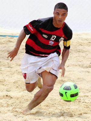 Benjamin Flamengo futebol de areia (Foto: Rodrigo Molina/Divulgação)