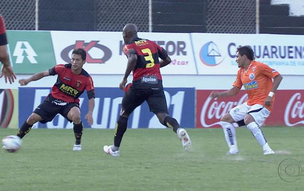 Central x Sport (Foto: Reprodução / TV Globo)
