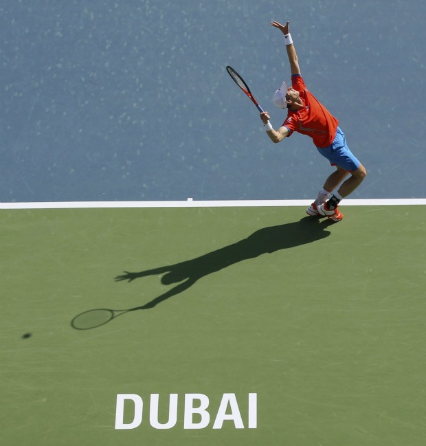 Andy Murray tênis ATP de Dubai (Foto: Reuters)
