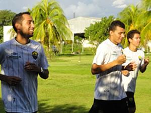Natan, Otávio e Fernando deixam DM do Cuiabá e já estão aptos a jogar (Foto: Assessoria)