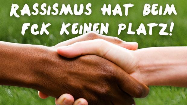 Site do Kaiserslautern faz campanha contra racismo (Foto: Site do Kaiserslautern)