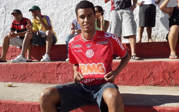 Gabriel dos Santos Constantino vence promoção 'GE na Estrada' (Foto: Rafael Farias / Intertv dos Vales)