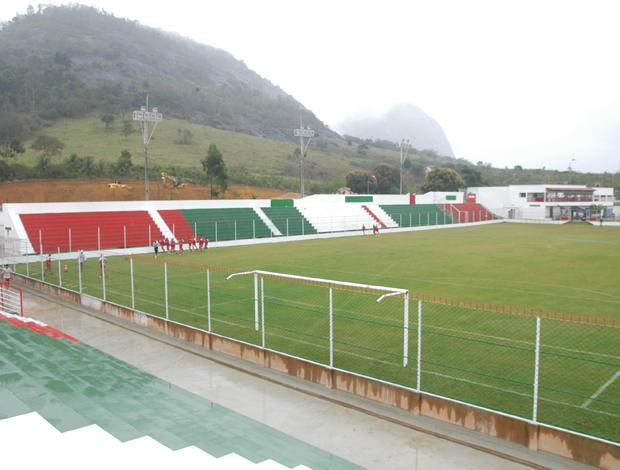 Estádio José Olímpio da Rocha, do Real Noroeste (Foto: Igor Gonçalves/Globoesporte.com)