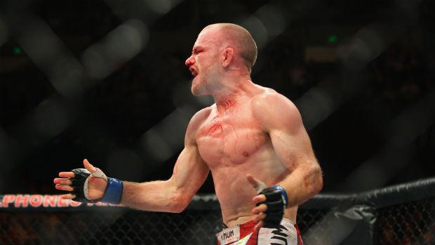 Martin Kampmann vence Thiago Alves no UFC em Sydney (Foto: Getty Images)