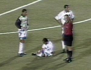Copa do Brasil 1998: Grêmio x Linhares (Foto: Reprodução/TV Gazeta)
