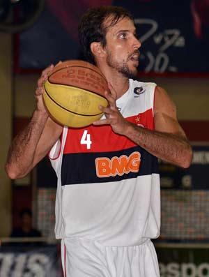 Marcelinho Flamengo x Minas basquete (Foto: João Pires/LNB)