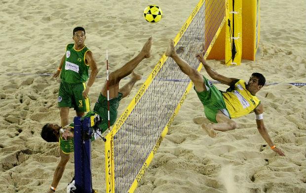 Brasil disputa o Mundial de Futevôlei 4 por 4 (Foto: Divulgação)