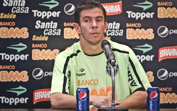 Leandro Donizete dá dicas sobre a Copa do Brasil (Foto: Bruno Cantini  / Site Oficial do Atlético-MG)