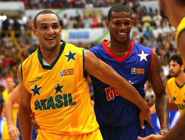 basquete nbb jogo das estrel;as alex e shamell (Foto: Luiz Pires / LNB)