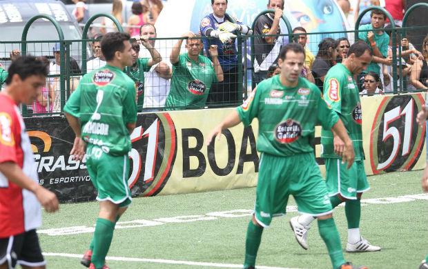 Euler, destaque do Palmeiras no showbol (Foto: Ricardo Cassiano/Divulgação)