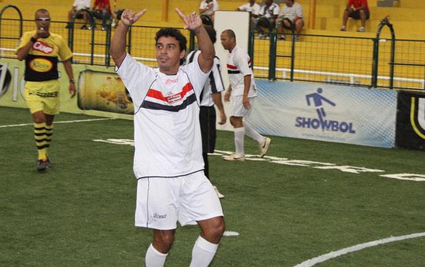 Alex Dias, jogador de showbol do São Paulo (Foto: Divulgação)