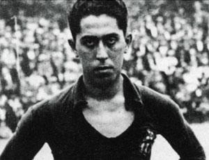 Paulino Alcántara, maior artilheiro da história do Barcelona (Foto: Divulgação / Site Oficial do Barcelona)