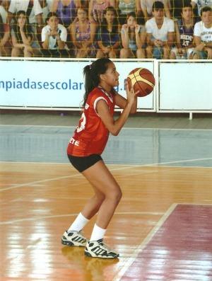 Malu Martins Colégio Motiva Olimpíadas Escolares de 12 a 14 anos João Pessoa (Foto: Divulgação/COB)