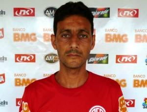 Márcio Cleik, zagueiro do Conilon (Foto: Reprodução/Site oficial do América FC)