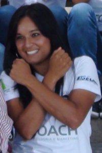 Nina, única jogadora natural de Piracicaba na equipe do XV (Foto: Bernardo Medeiros/ Globoesporte.com)