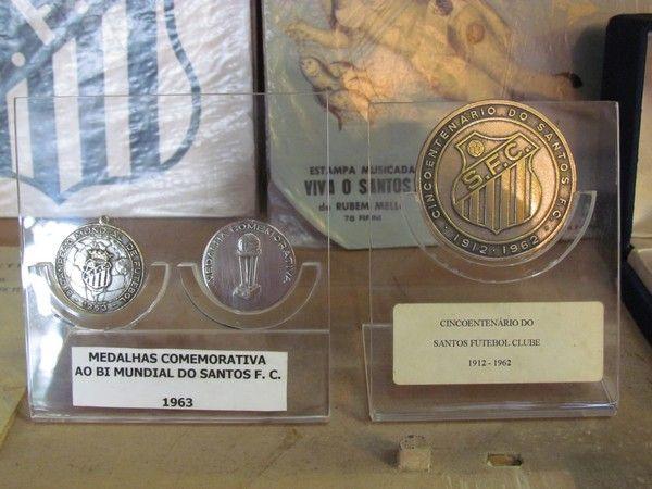 Relíquias Santos Museu (Foto: Divulgação)