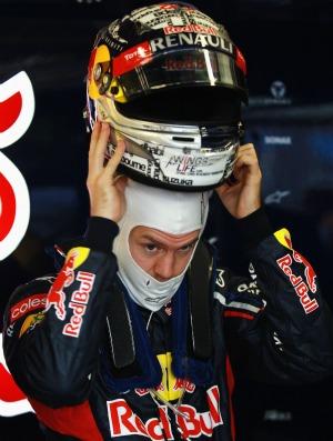 Vettel não ficou satisfeito com desempenho nos treinos livres (Foto: Getty Images)