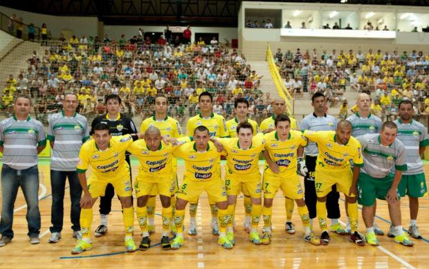 Time de futsal do Marechal Rondon (Foto: Divulgação)