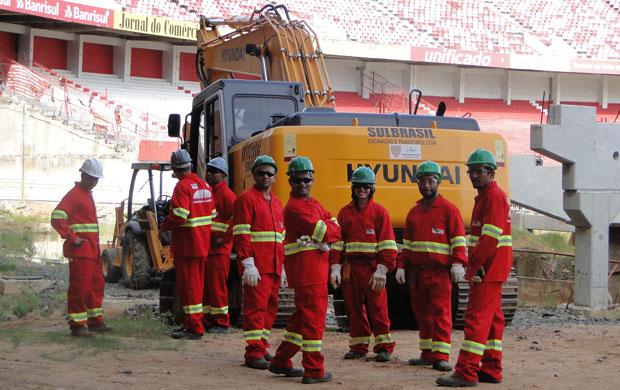 obras beira-rio reforma andrade gutierrez  (Foto: Divulgação/Inter)
