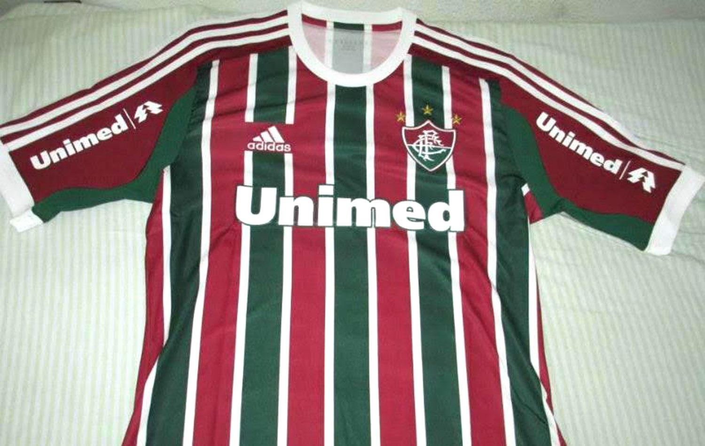 Imagens da nova camisa número um do Fluminense vazam na internet ... 947e4cfced6d8