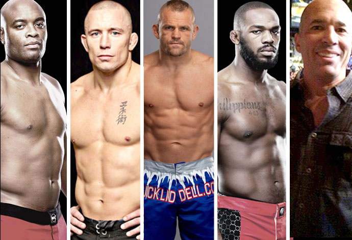 Spider, GSP, Liddell, Jones, Royce... O top 20 de todos os tempos do UFC