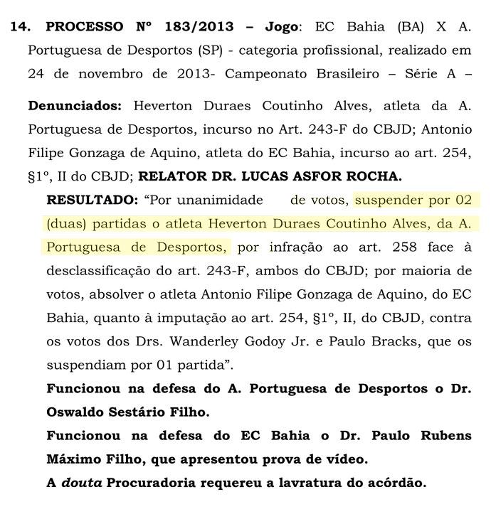 Portuguesa escala jogador irregular e pode ser rebaixada no Brasileirão