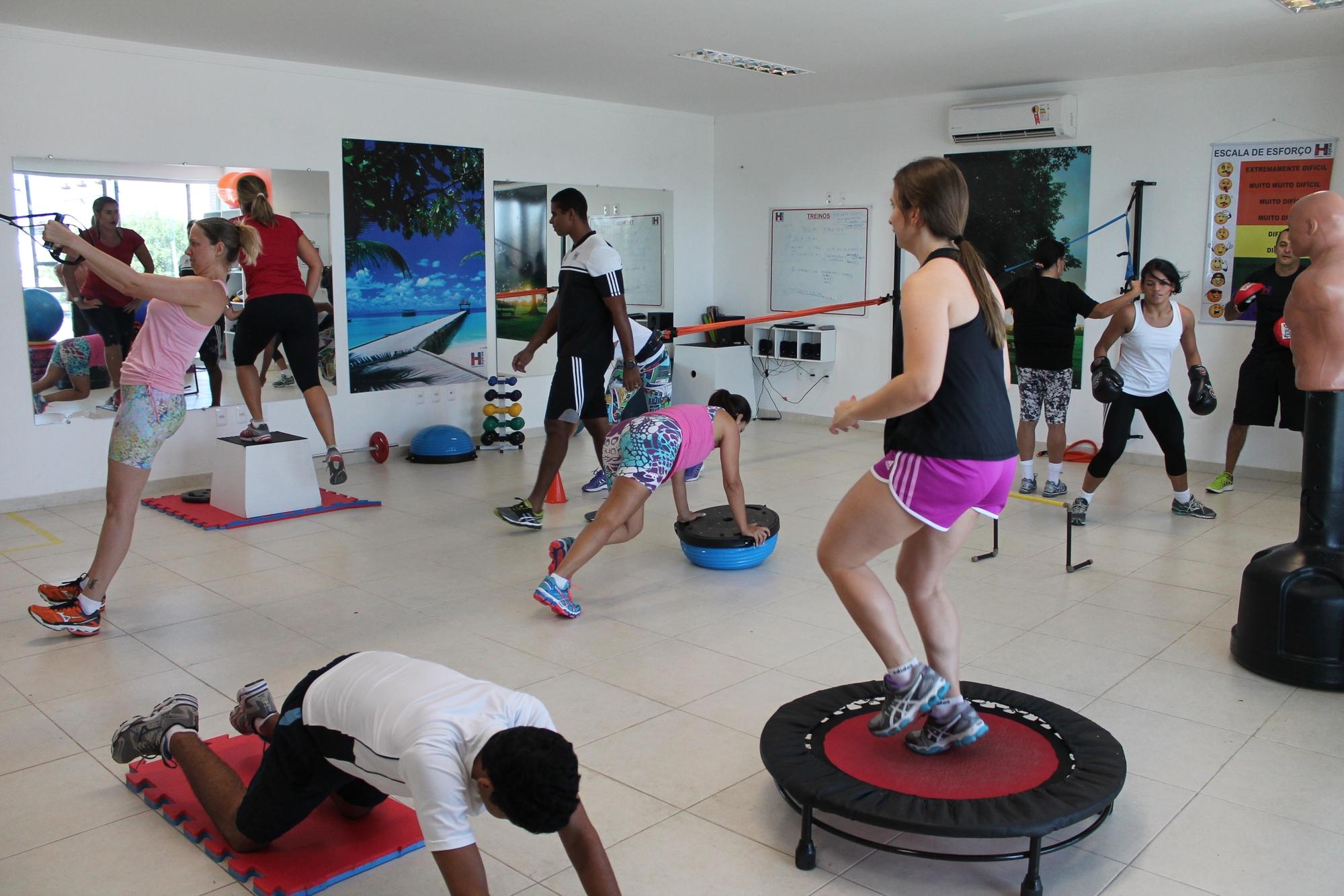 Circuito Funcional : Treino funcional é aliado de atletas para emagrecimento e