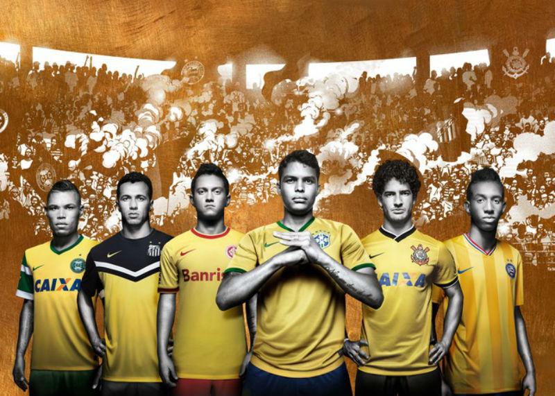 Clubes brasileiros ganham camisas amarelas no ano da Copa. Veja ... e8c4aca03d609
