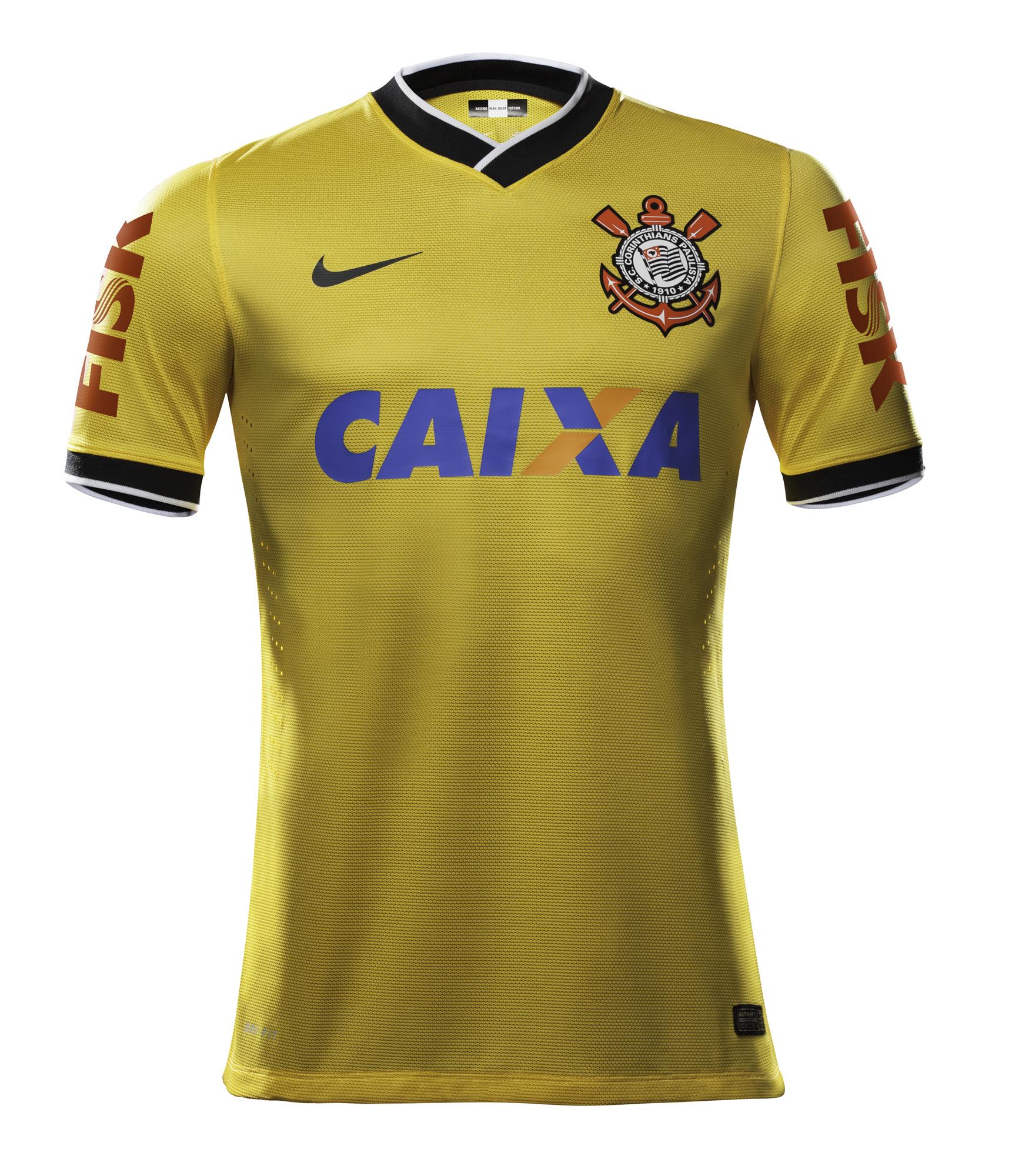 6a066af34c Corinthians estreia camisa amarela neste domingo