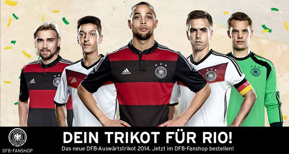 0cda05e86f Seleção alemã admite inspiração no Flamengo para uniforme rubro-negro