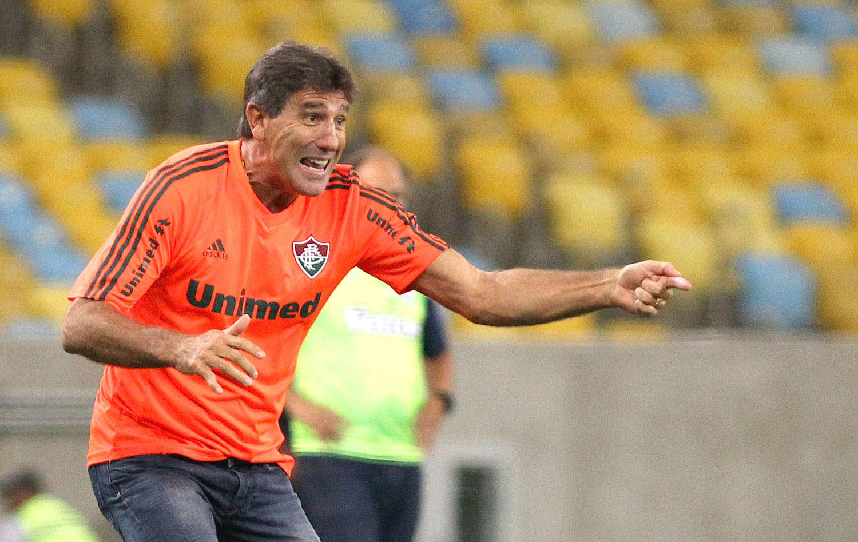 Renato Gaúcho revela bronca no intervalo para Flu  acordar  e golear ... 7a8bb88c8ab5d